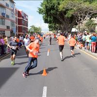600 inscritos en la V Carrera Popular de Taco