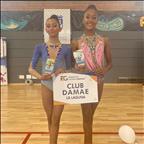 Dos medallas para el Club GR Damae en el Campeonato de Canarias de Gimnasia Rítmica