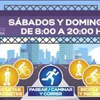 El Ayuntamiento de La Laguna habilita la Avenida Los Majuelos para la actividad deportiva y de paseo