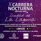 La X edición de la Carrera Nocturna Ciudad de La Laguna se celebrará del 29 de marzo al 7 de abril de manera virtual