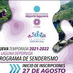Programa de Senderismo La Laguna DeporVida, para la nueva temporada 2021-2022